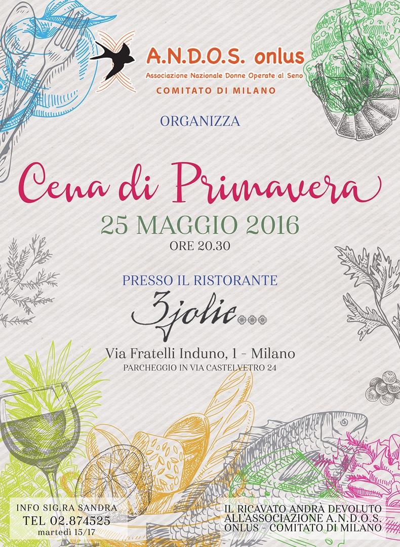 Cena di primavera - milano, 25/05/2016
