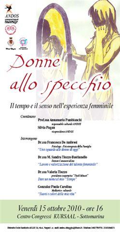 Donne allo specchio 15 10 2010 sottomarina - Valeria allo specchio ...