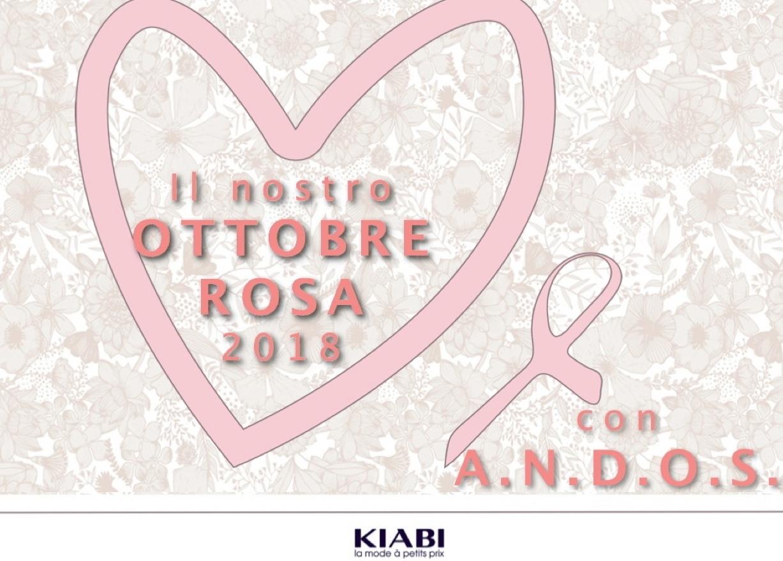 ec2b96faf281 Ottobre rosa con l'A.N.D.O.S. onlus - partnership tra Amoena, Kiabi e la  sua Fondazione ed A.N.D.O.S. onlus